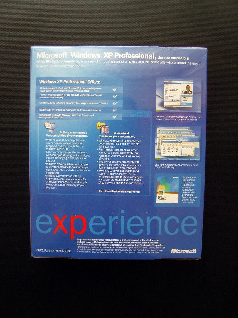 serial number xp professional
